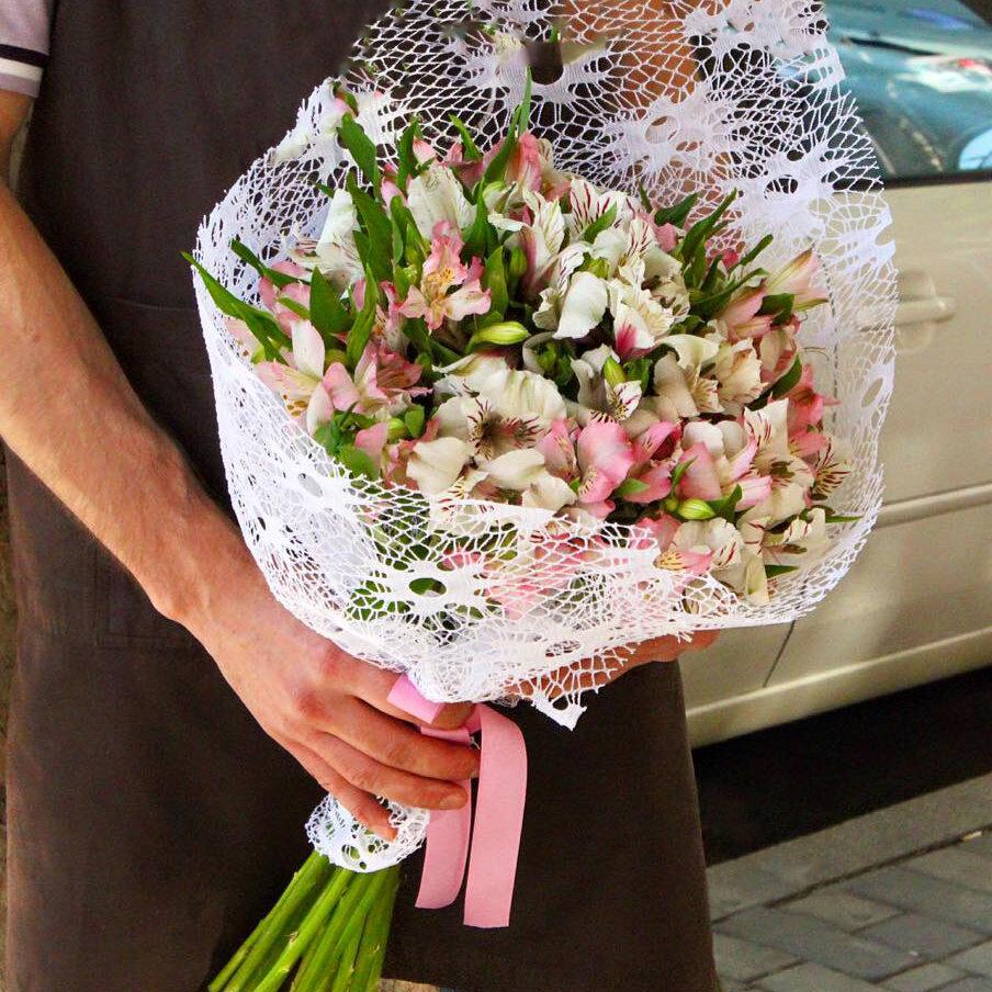 Свадебный букет, доставка цветов в городе черновцы