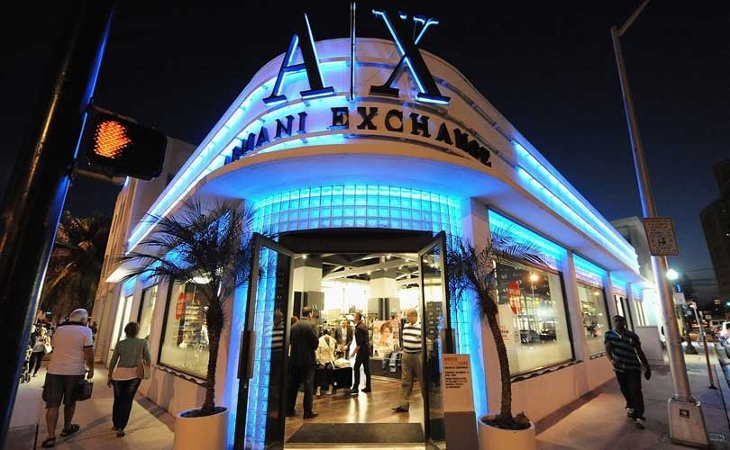 магазин одежды — Armani Exchange — Москва, фото №1