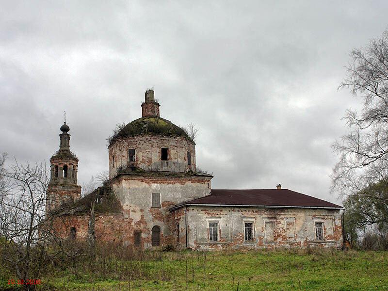 Тверская обл деревня плотично фото церкви