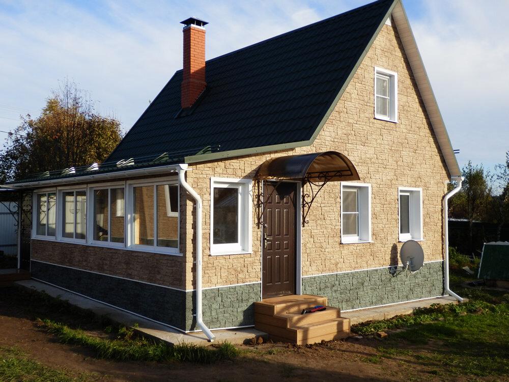 лорен дом дача внешняя отделка фото производится помощью латунного