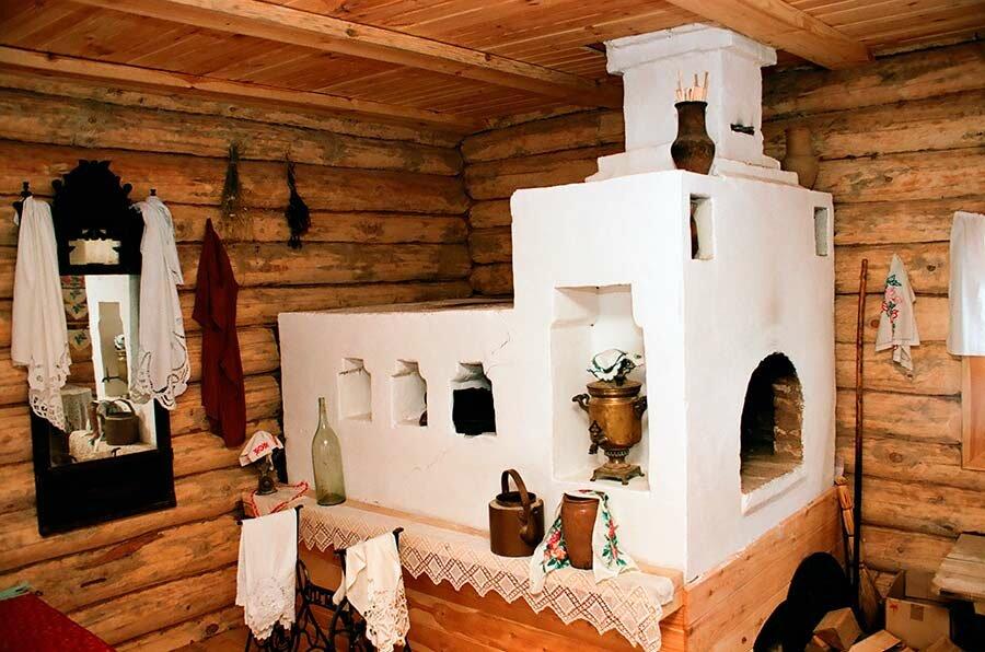 деревенская печь своими руками фото