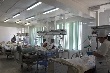 больница для взрослых — ГАУЗ Республиканская клиническая больница скорой медицинской помощи имени В. В. Ангапова — Улан-Удэ, фото №3