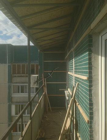 Балтик-профиль - остекление балконов и лоджий, метро Чёрная .