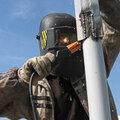 Промышленный альпинизм в Воронеже, Проведение высотных работ в Боброве
