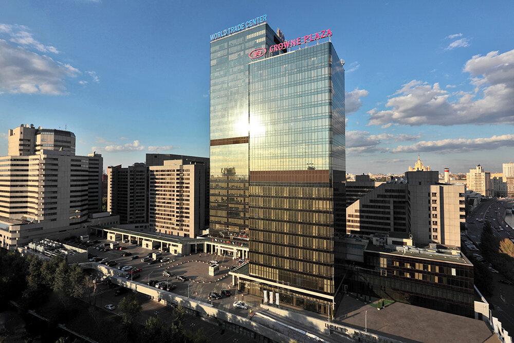 гостиница — Crowne Plaza Moscow - World Trade Centre — Москва, фото №2