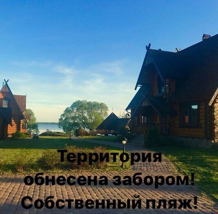 Дом у озера в Петриково