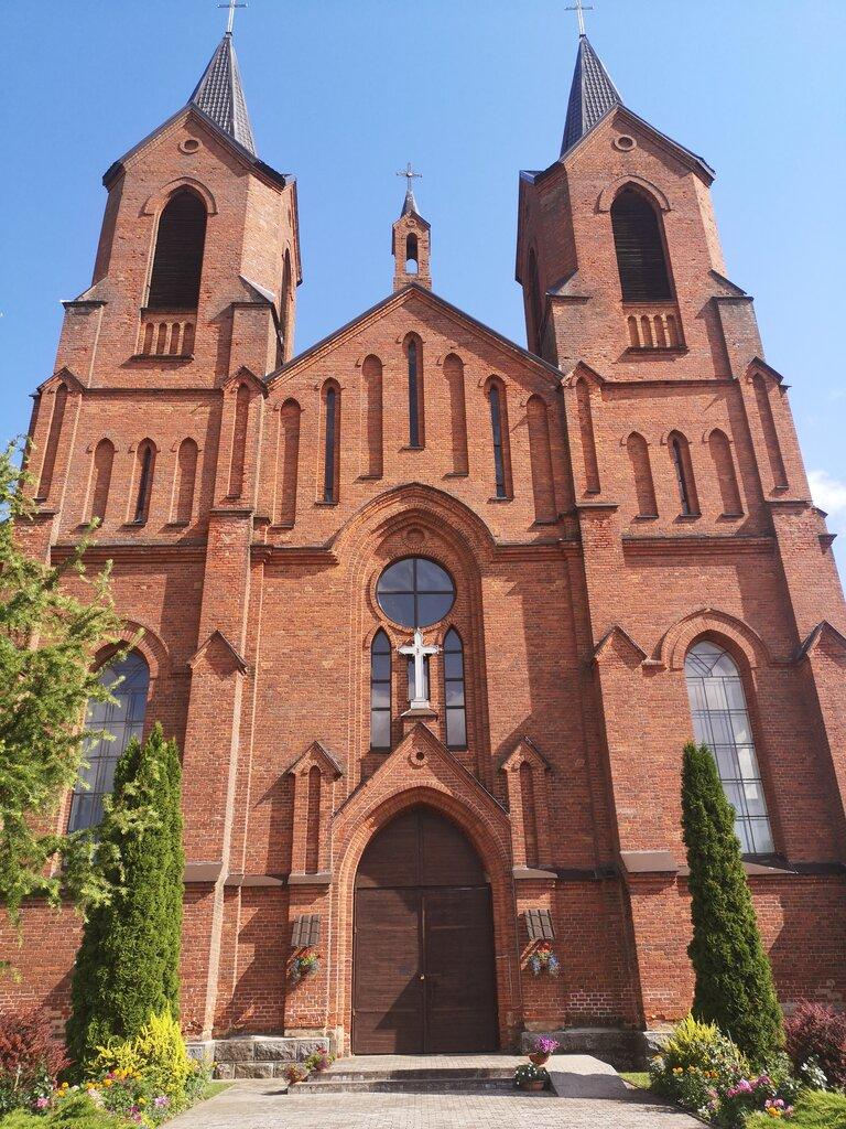 католический храм — Костёл Вознесения Девы Марии — Миоры, фото №1