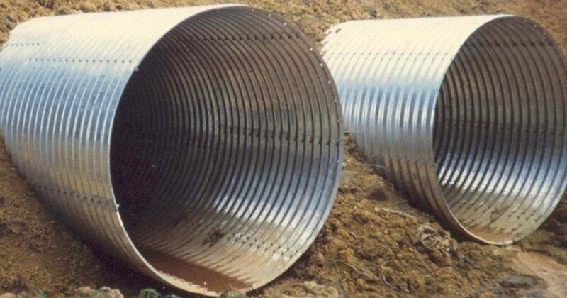 гофрированные трубы металлические