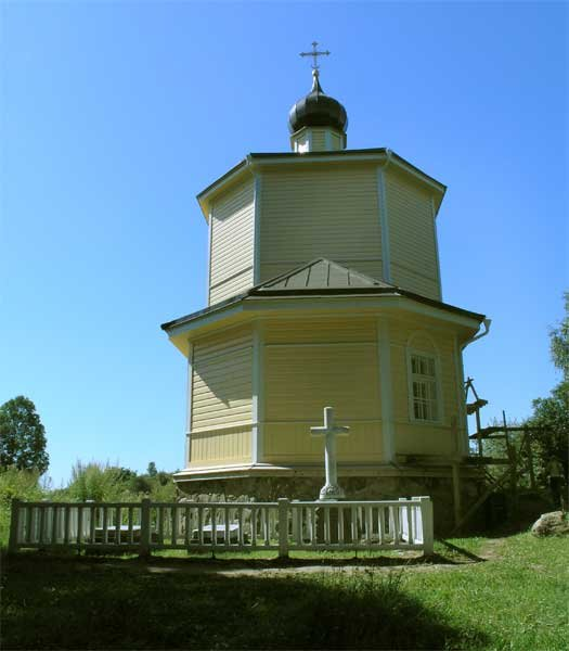 православный храм — Церковь Георгия Победоносца в Ворониче — undefined, фото №2