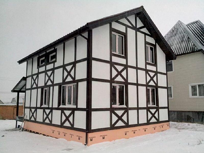 пользователи фахверк имитация фото двухкомнатный домик