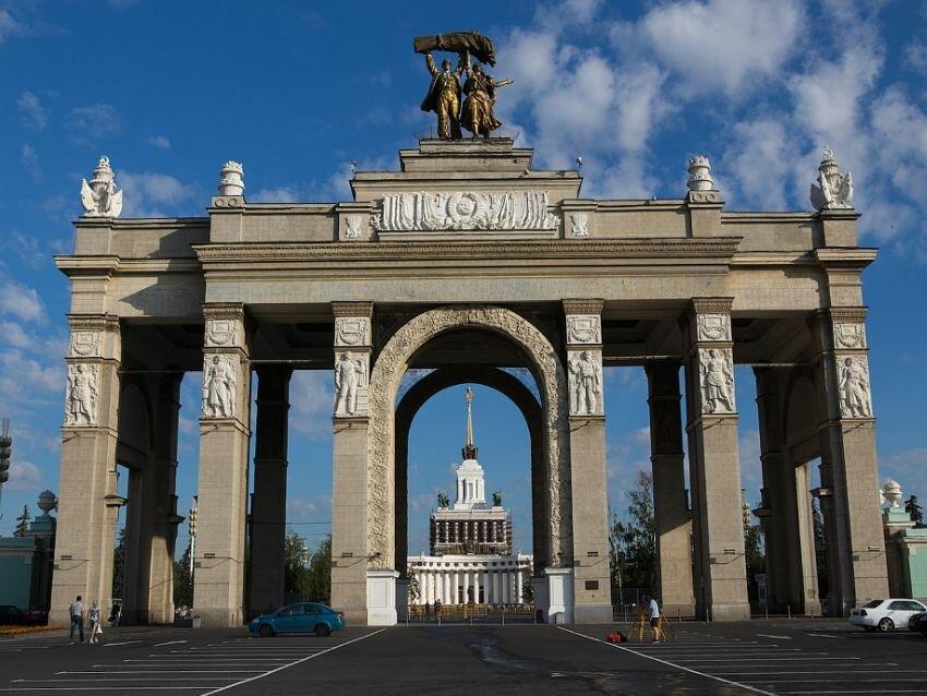 достопримечательность — Главный вход ВДНХ — Москва, фото №10