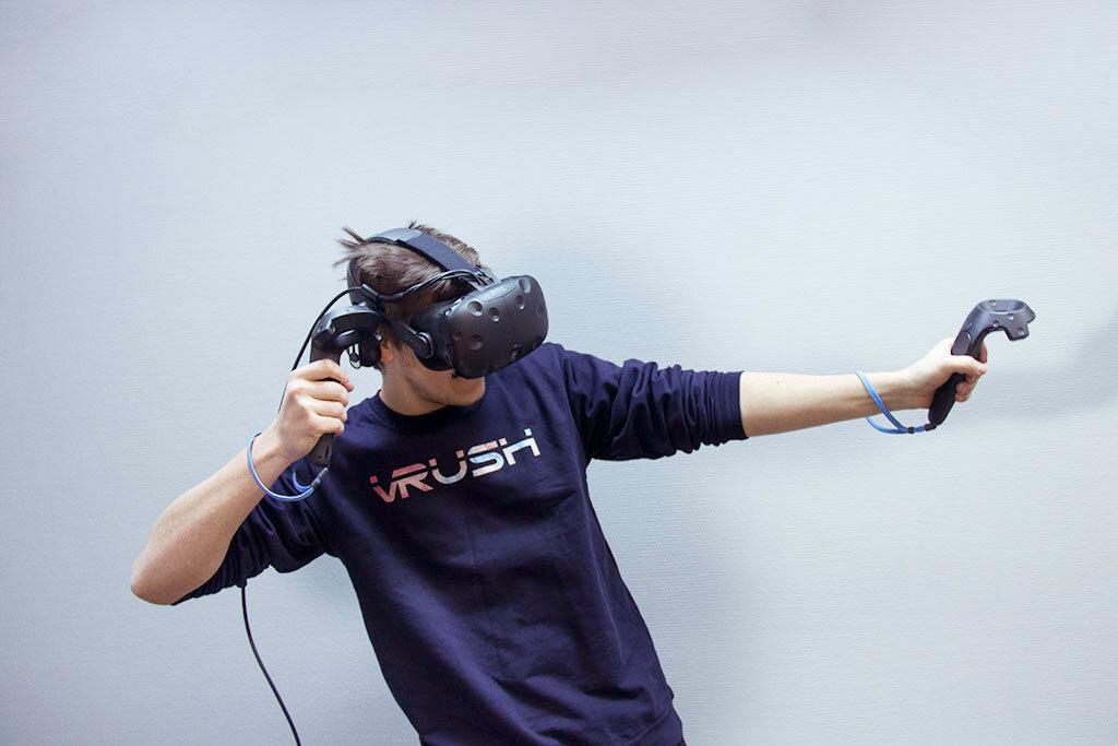 клуб виртуальной реальности — Клуб виртуальной реальности VRush — Москва, фото №1