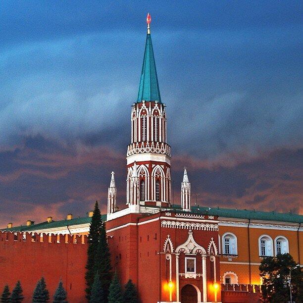 достопримечательность — Никольская башня — Москва, фото №2