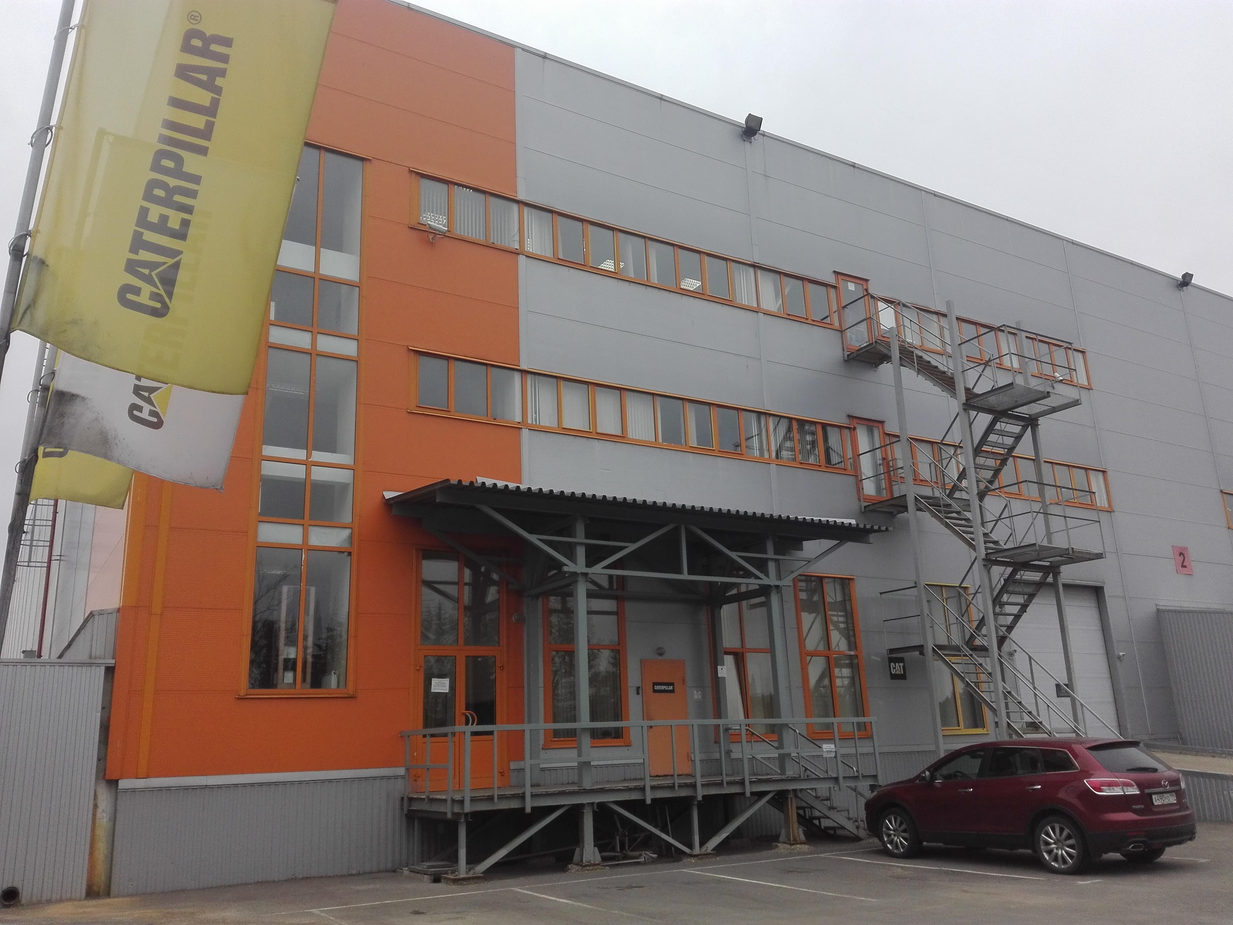 4c10ca8b0 Катерпиллар - складские услуги, деревня Чёрная Грязь — отзывы и фото —  Яндекс.Карты