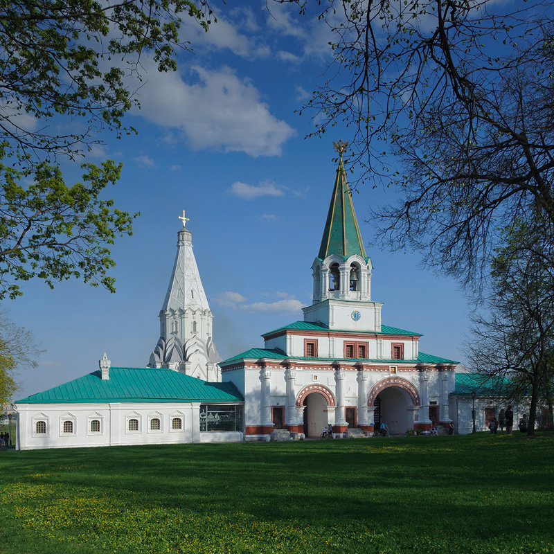 лесопарк, заповедник — Музей-заповедник Коломенское — Москва, фото №5