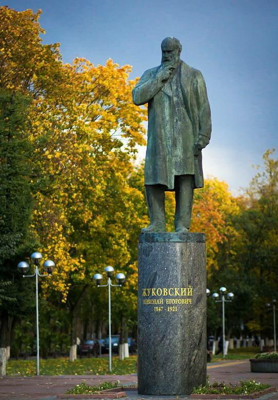 памятник, скульптура — Памятный камень с цитатой Н.Е. Жуковского — Жуковский, фото №1