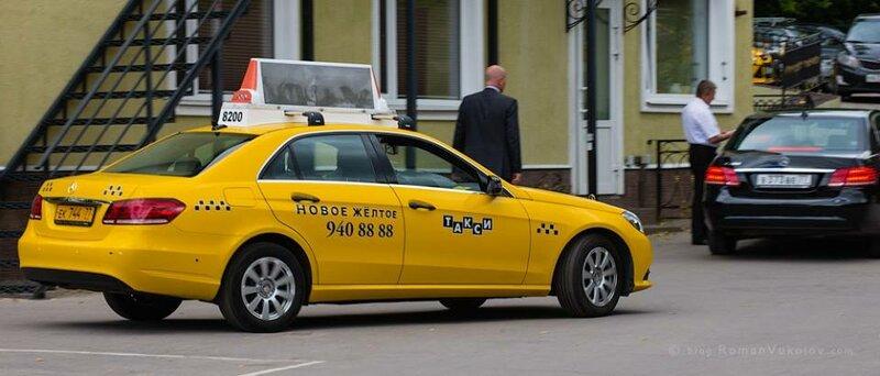 Новое желтое такси - фотография №4