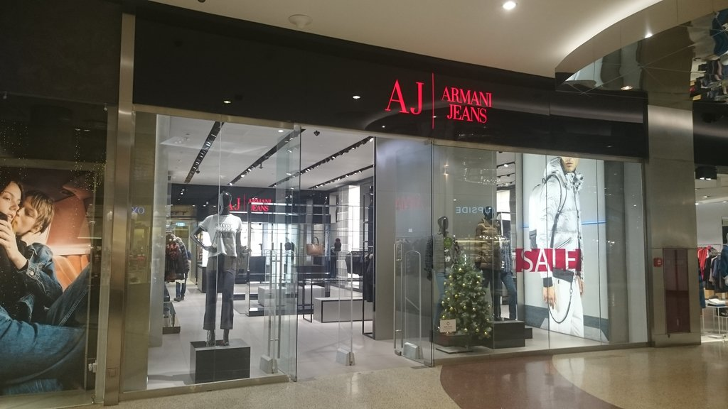 208a46a7e9 Armani Jeans, clothing store, Russia, Moscow, Yartsevskaya Street ...