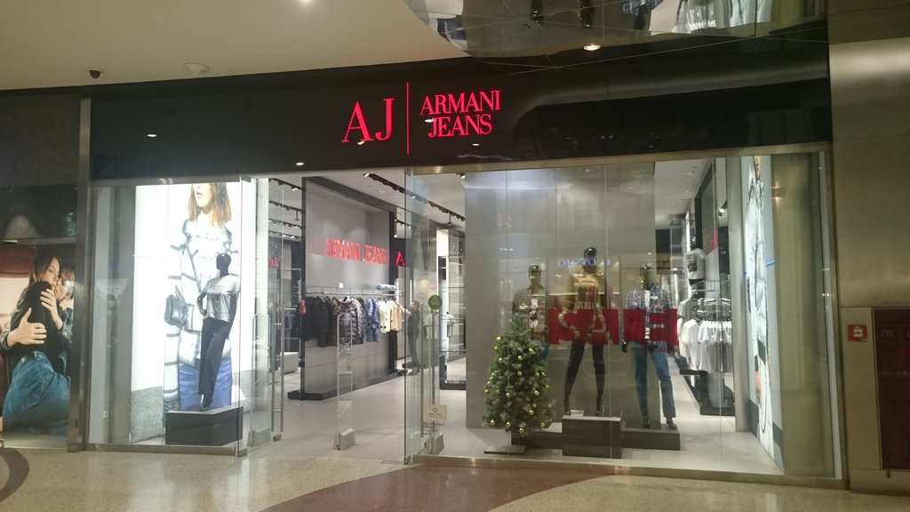 new style d5881 99769 Armani Jeans, clothing store, Russia, Moscow, Yartsevskaya ...
