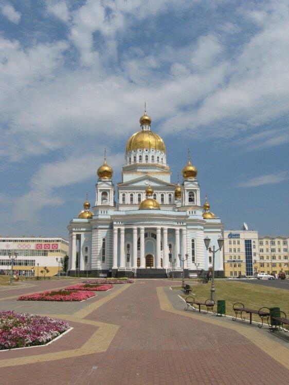 православный храм — Кафедральный собор Феодора Ушакова — Саранск, фото №10