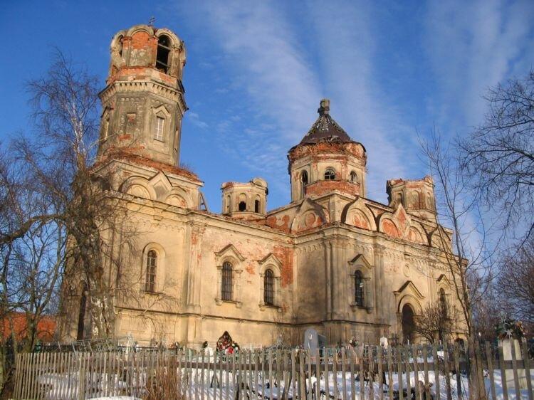 orthodox church — Tserkov Troitsy Zhivonachalnoy V Issade — Saint-Petersburg and Leningrad Oblast, photo 2