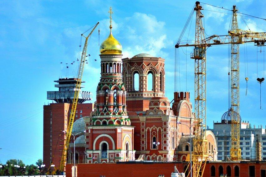 православный храм — Кафедральный собор Благовещения Пресвятой Богородицы — Йошкар-Ола, фото №7