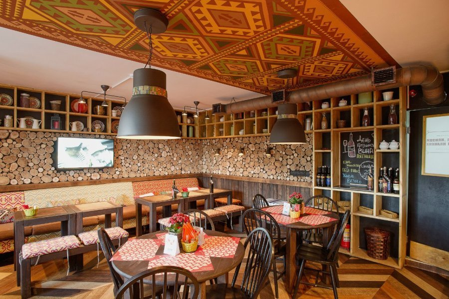 restaurant — Restoran Pkhali-Khinkali — Санкт-Петербург, фото №6