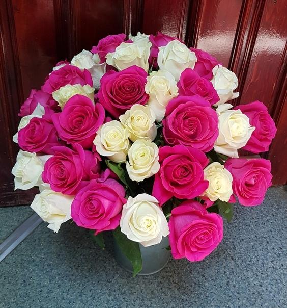 Фрезиями розами, доставка цветов оса пермский край