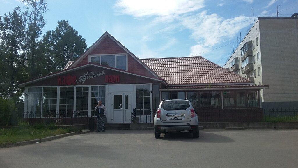 cafe — Городской парк — Novaya Ladoga, фото №1