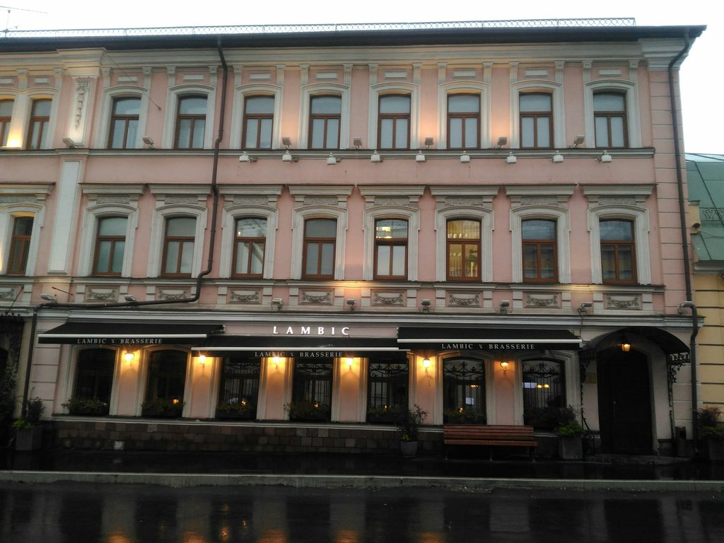 ресторан — Brasserie Lambic — Москва, фото №1