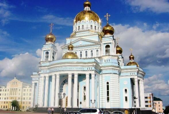 православный храм — Кафедральный собор Феодора Ушакова — Саранск, фото №6