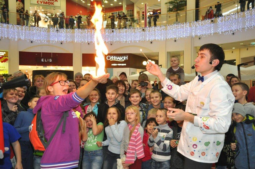 организация и проведение детских праздников — Простая Наука — Новосибирск, фото №2