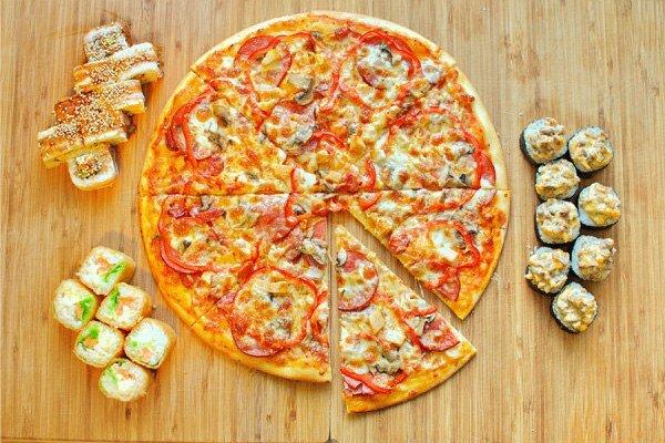 Курить, картинки с роллами и пиццей прикольные