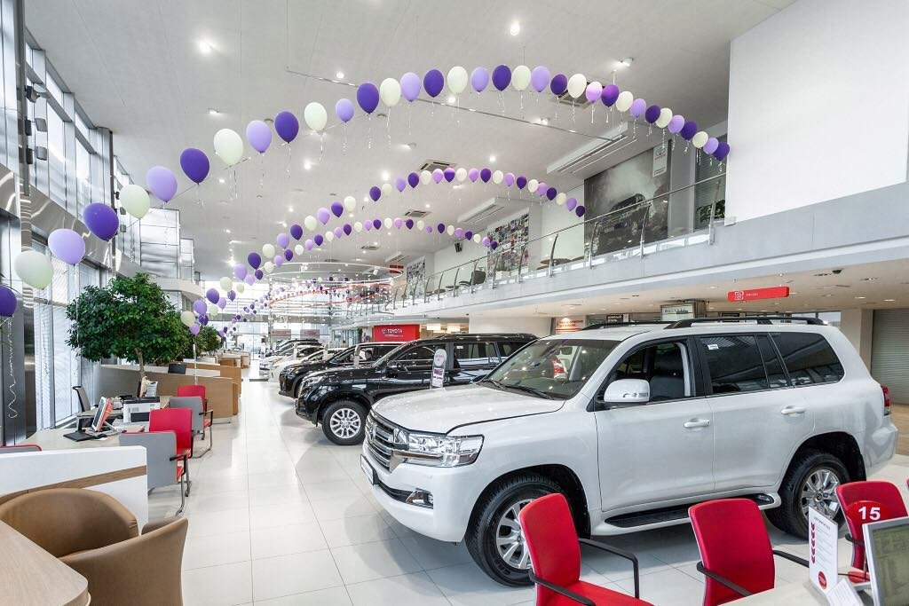 автосалон — Тойота центр екатеринбург запад — Екатеринбург, фото №3