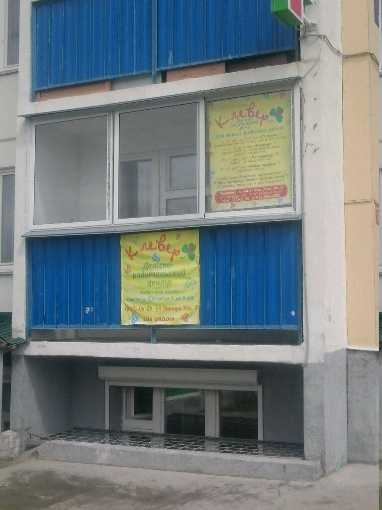 центр развития ребёнка — Детско-родительский центр Клевер Baby — Новосибирск, фото №1