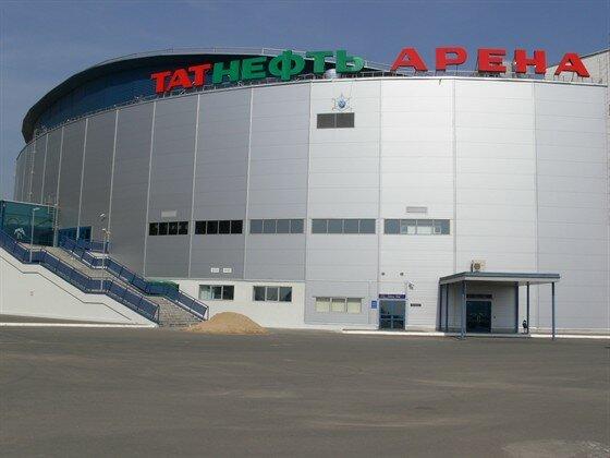 спортивный комплекс — Татнефть Арена — Казань, фото №6