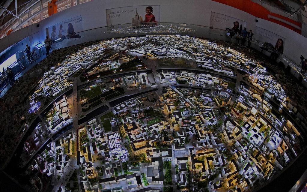 выставочный центр — Макет Москвы — Москва, фото №6