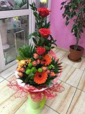 Букет, доставка цветов в белогорске