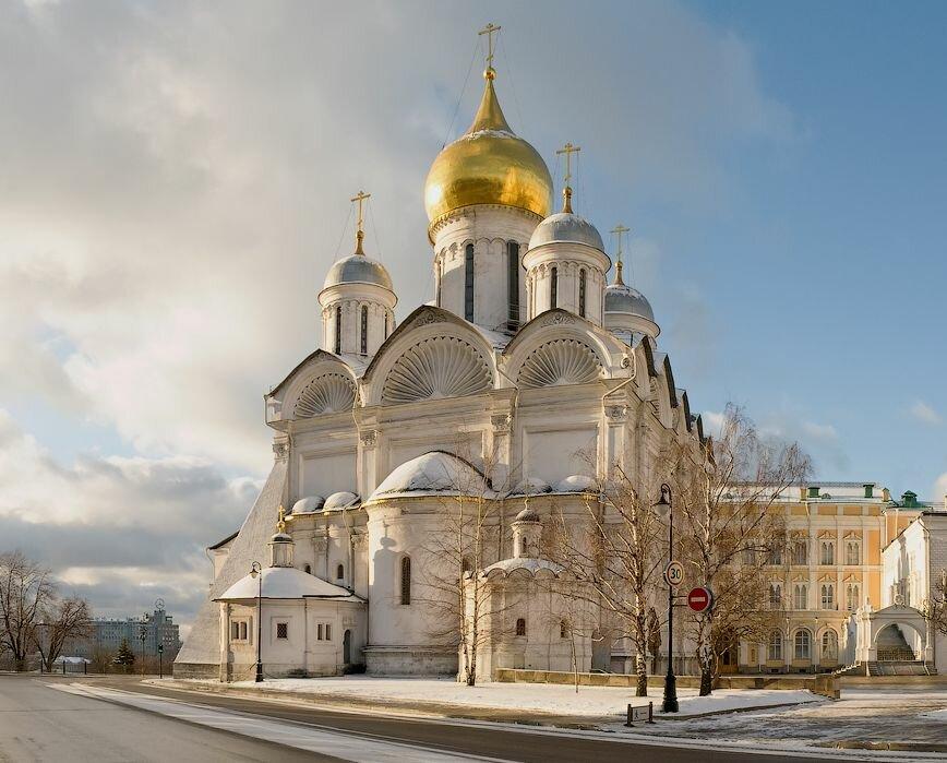 православный храм — Архангельский собор — Москва, фото №2