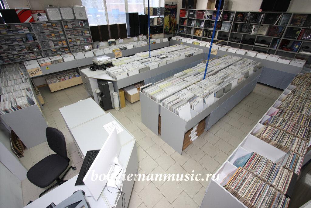 музыкальный магазин — Магазин виниловых пластинок Boogiemanmusic — Москва, фото №2