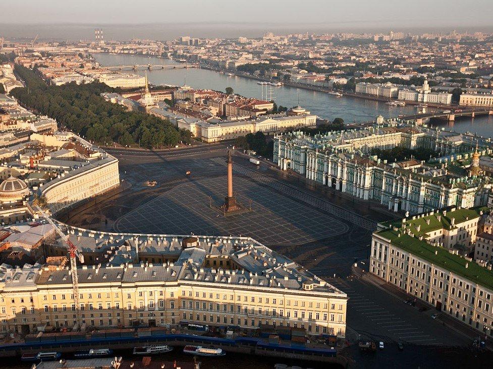 достопримечательность — Дворцовая площадь — Санкт-Петербург, фото №2
