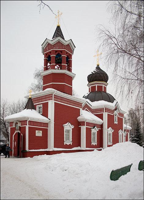 православный храм — Храм Великомученика и Победоносца Георгия — Ивантеевка, фото №3