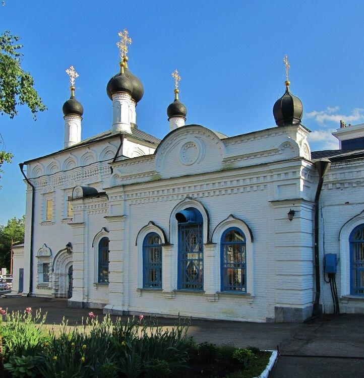 православный храм — Иоанно-Богословский Кафедральный собор — Саранск, фото №2