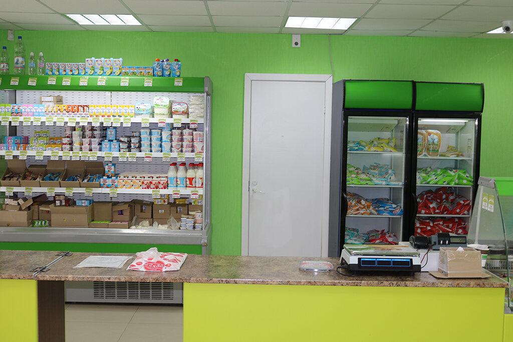 что показать картинку молочный магазин творчестве