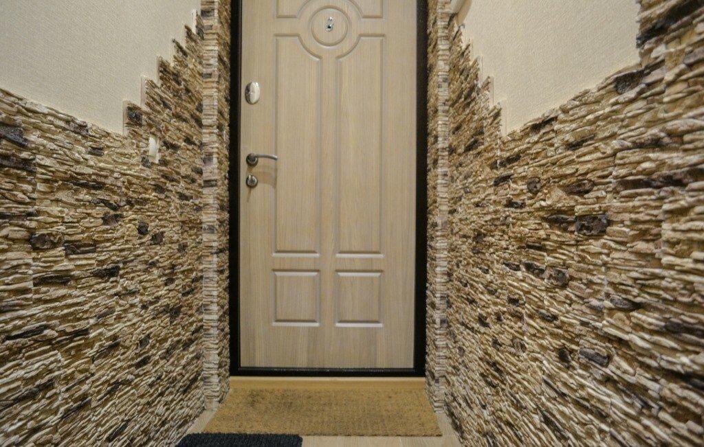 салон декор коридора искусственным камнем фото венеции