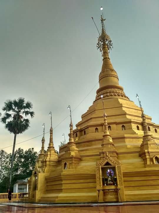 pagoda — Maniyadanar Sandawshin Pagoda — undefined, фото №1