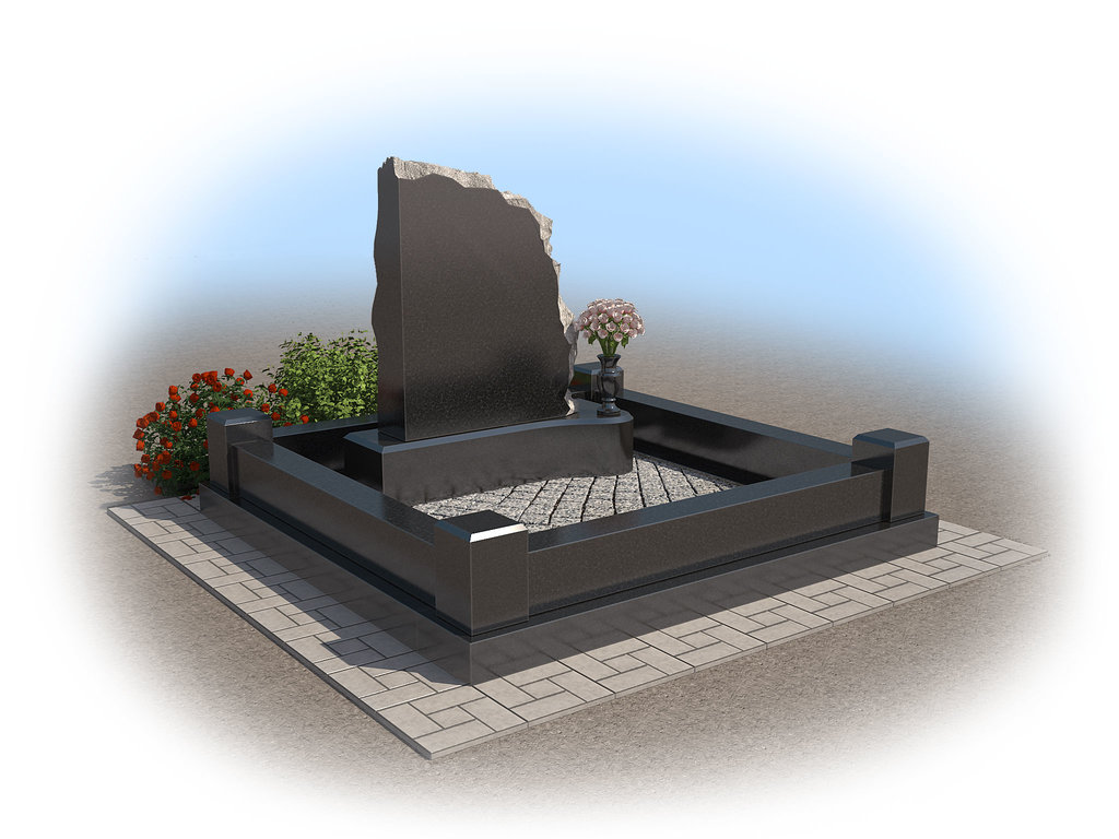 варианты надгробных памятников фото постройке