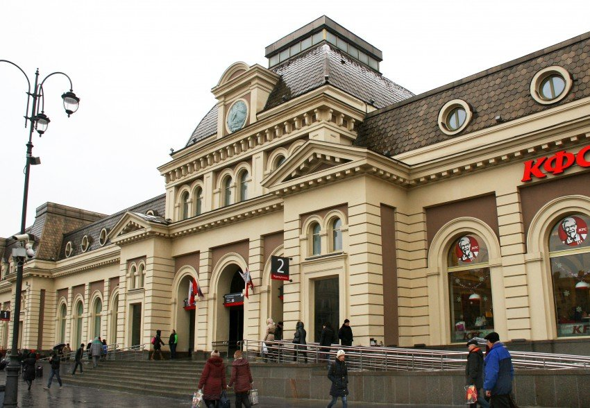 train station — Paveletsky Rail Terminal — Moscow, photo 2
