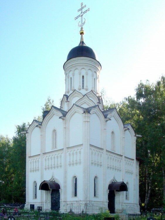 фото церкви на павлова картине