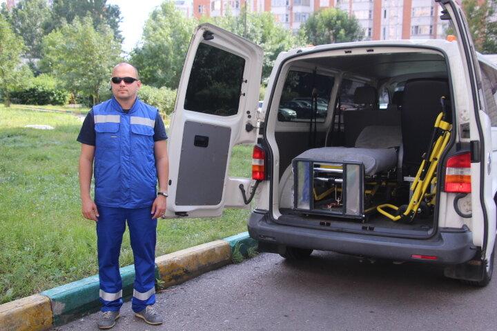 Перевозка больных TaxiMed.ru - фотография №3